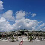 山の天気と沖縄の天気は変わりやすい。観光には折り畳み傘が一本あるといいかもね。